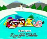 Angry Birds Days Before Christmas by Oceanegranada