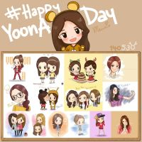 Special for lovely Yoona Happy YoonA Day by mewzim