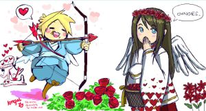 V-day Collab: Playing Cupid by kingLoL