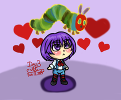 OC Art  R1 3 - Cute Little GrapeHead by HirokoTheHedgehog