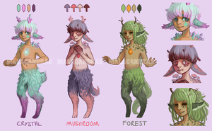 Faun Adoptables paypal [CLOSED] by Malacandrax