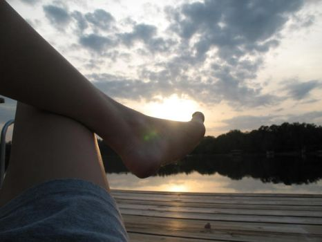sun between my toes by 27crayons