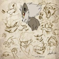 "The ""Wolf"" -- Various by SupaCrikeyDave"