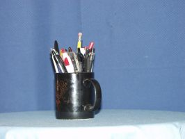 Pen Cup2 by nitch-stock