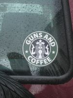 Guns and Coffee by AaronThomason