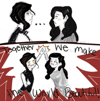 tahno and asami meet by 123chachy