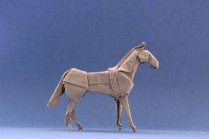 Origami Horse 'Standing' by GEN-H