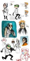 Portal sketches by SIIINS