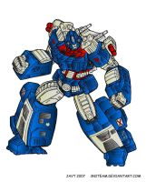 Ultra Magnus Colored by 3niteam