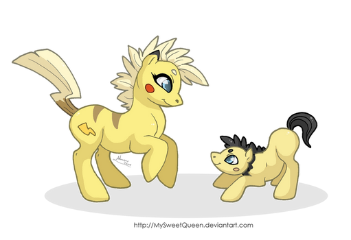 Playing With Mommy by Almairis