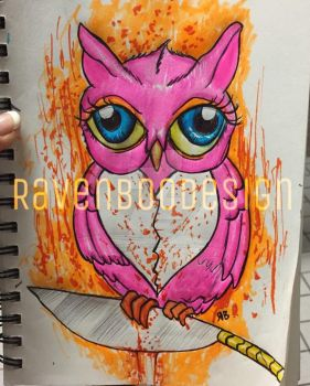 Owl Cut You by stickingwithpencil