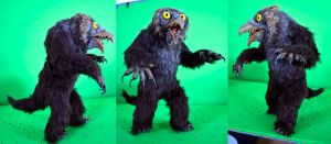 Owlbear Stop-Motion Puppet by Loneanimator