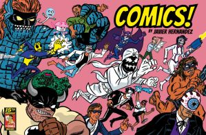 COMICS wraparound cover by javierhernandez
