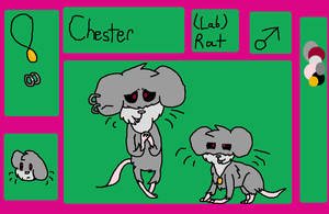 Chester the lab rat by iznj