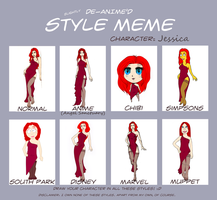 Jessica - Style meme III by cevier