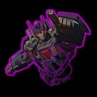 "Nemesis Prime ""digitized"" by REX-203"