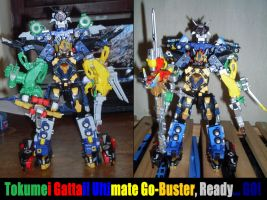 Go Buster Ultimate by zaphod616