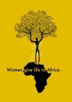 Women give life to Africa by fabyogtr
