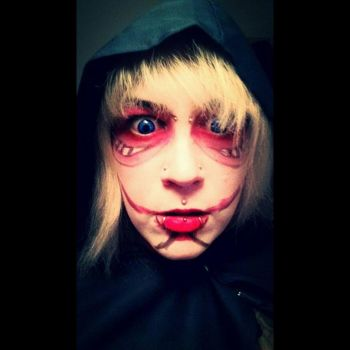 annie titan make up by poulpynk