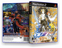 Final Fantasy X customcover v3 by nakashimariku