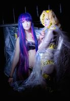 Panty and Stocking - TELEPHONE by kirawinter