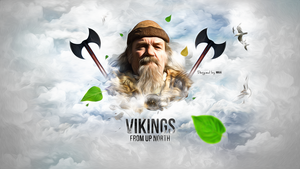 Vikings - From Up North [Test Effect] by NINJAIWORKS