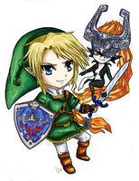 Chibi Link Twilight Princess by leziith