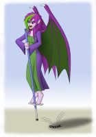 Jhudora On A Pogo Stick by uncle-bilbo