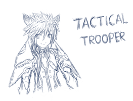 Tactical Trooper - ElDoodle entry by FirionRoseII
