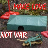 Make Love Not War by loezzy