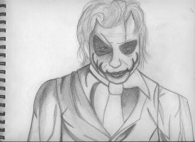 Unfinished: Joker by RouxWolf