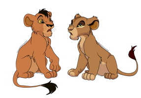 cubs for gunnerkelz by Nyrexis