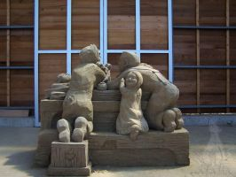 sand sculptures I by soho-power