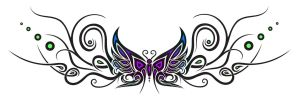 Tattoo design : butterfly 1 by Dessins-Fantastiques