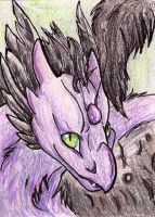 ACEO: Mei the fledgling Skydancer by AwesomelyAimless