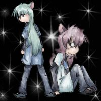 Youji And Natsuo by KittyNamedAlly