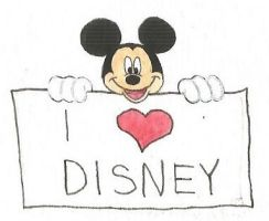 I love Disney by brazilianferalcat