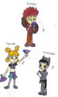 Sand Village Babies by Shaed-Knightwing