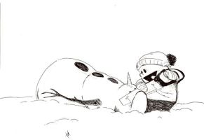 snowman surgery by Alx-44
