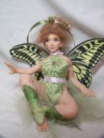 """Joy"" ooak fairy by AmandaKathryn"
