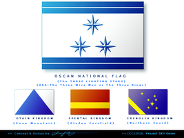 OSCAN National Flag by japphell