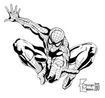 Spiderman Inks by BonGiuovi