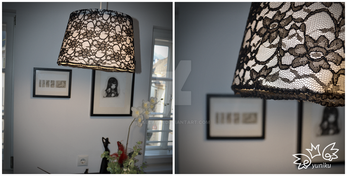 Lacy Lampshade by Selaiah