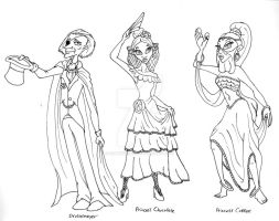 Nutcracker Sketches 05 by Gummibearboy