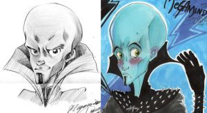 -Megamind ARTWORK - by AsuHan