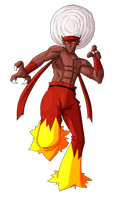 Pokepeople: Blaziken Redux by MTC-Studio