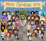 The Big Christmas Collaboration 2013 by Jazzy-C-Oaks