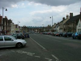 Chipping Sodbury Highstreet by SketchKat