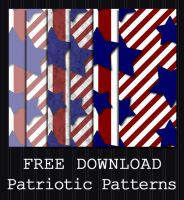 FREE DOWNLOAD - Patriotic Pattern by PointyHat