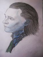 Loki, the god of mischief by HellOrian